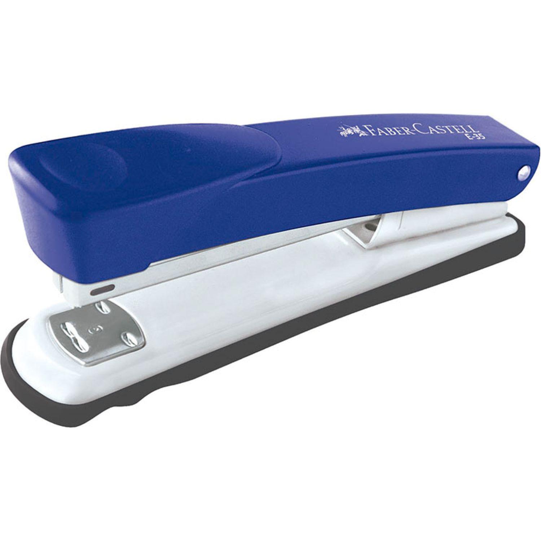FABER CASTELL Engrapador E35 Para 35h Azul Varios Grapadoras de sobremesa