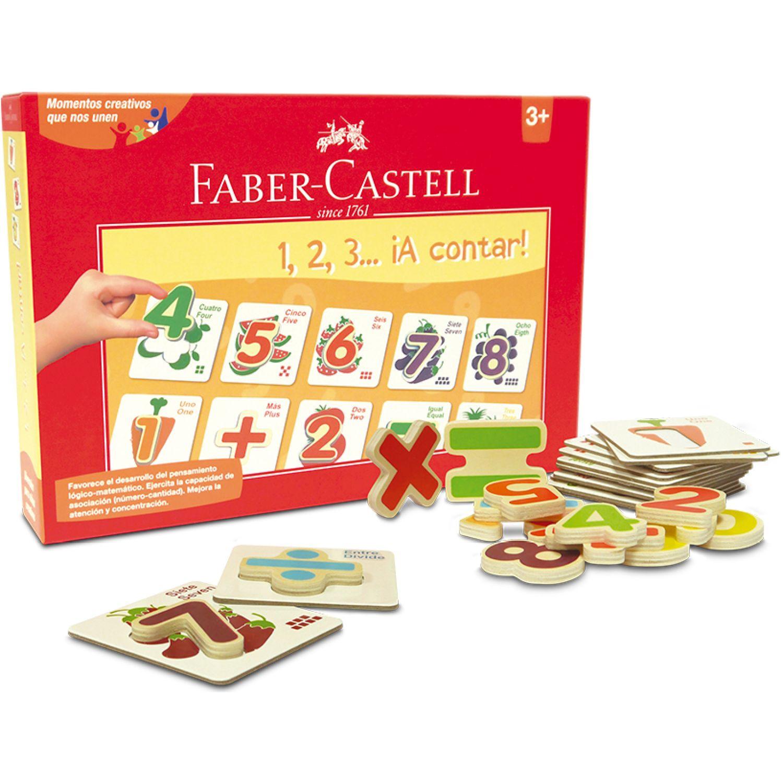 FABER CASTELL Set Creativo 1 2 3  ¡A Contar! Varios Habilidades básicas