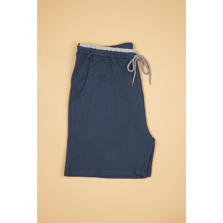 SISI Home Wear Short Men Azul Pantalones de dormir