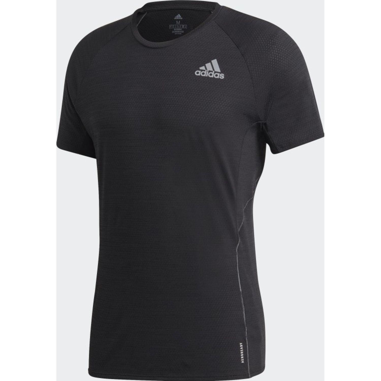 adidas Adi Runner Tee Negro Camisetas y polos deportivos