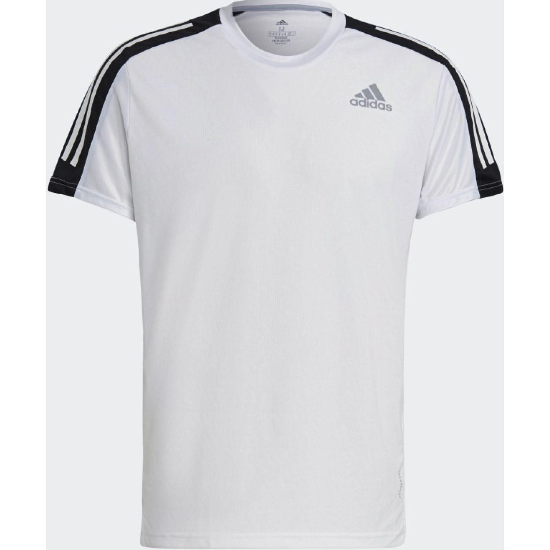 adidas Own The Run Tee Blanco / negro Camisetas y polos deportivos