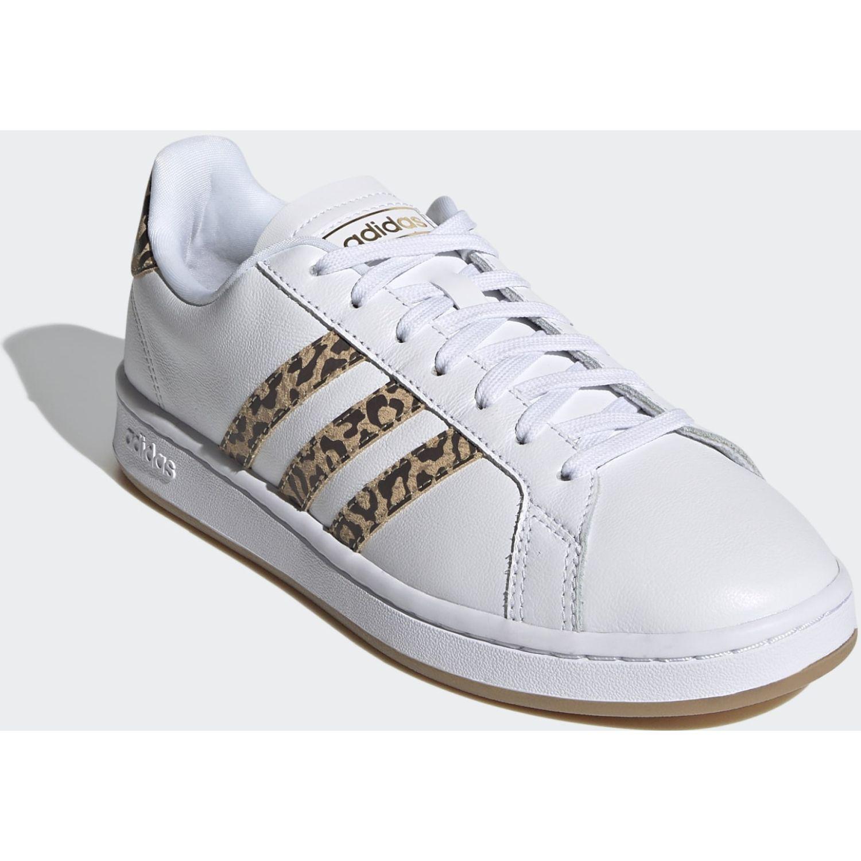 adidas Grand Court Blanco / marrón Para caminar