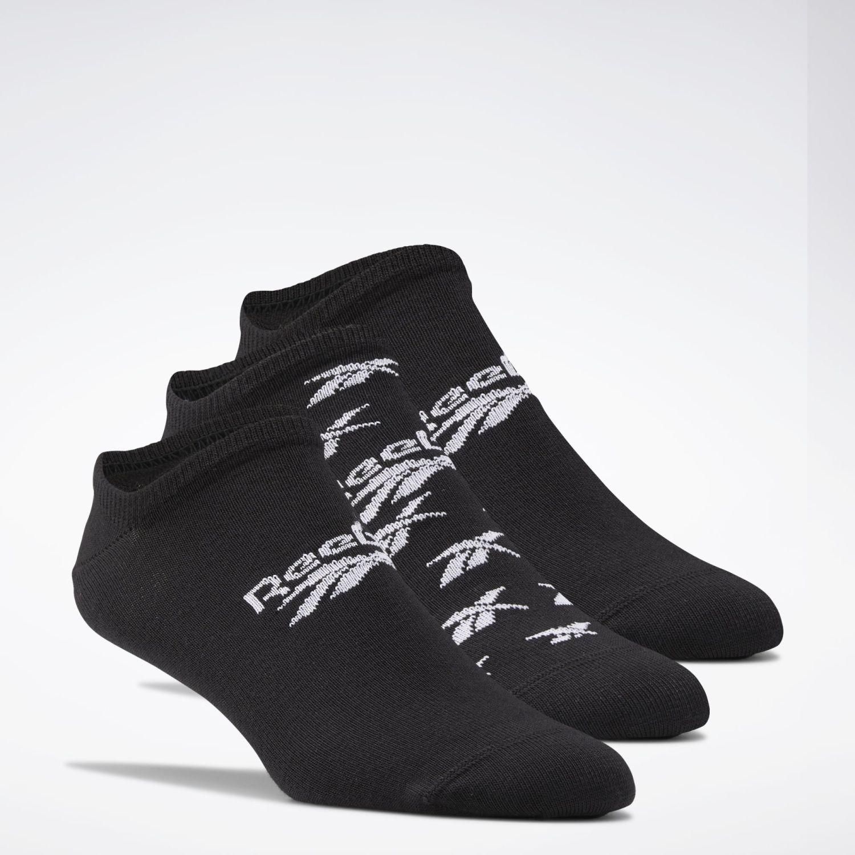 Reebok Cl Fo Invisible Sock 3p Negro / blanco Medias deportivas