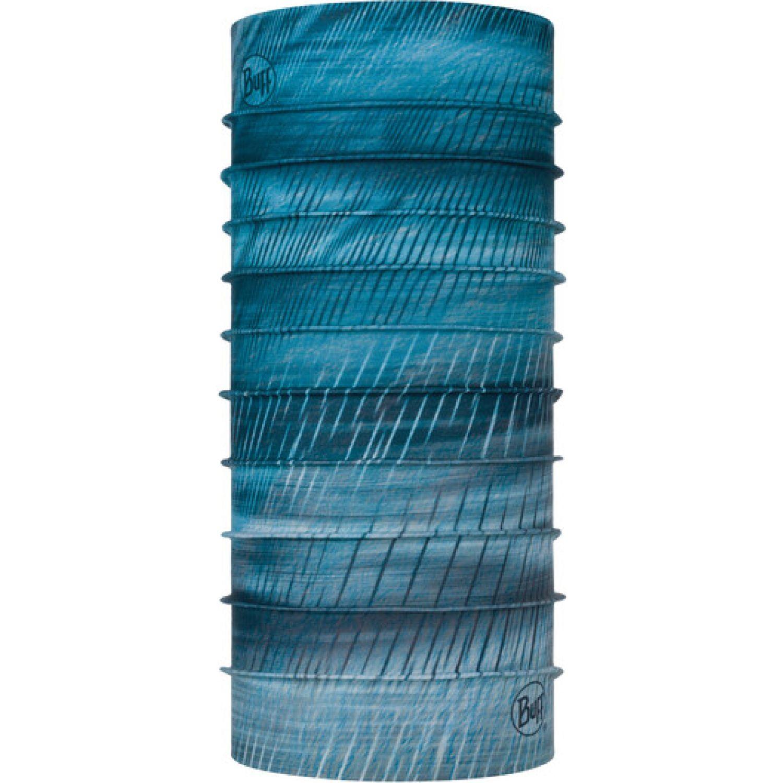 BUFF Neckwear Coolnet Uv+ Keren Stone Blue Azul Polainas de cuello