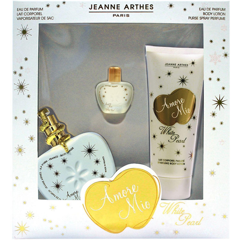 JEANNE ARTHES Estuche Amore Mio White Pearl 100ml Blanco / amarillo Colonia