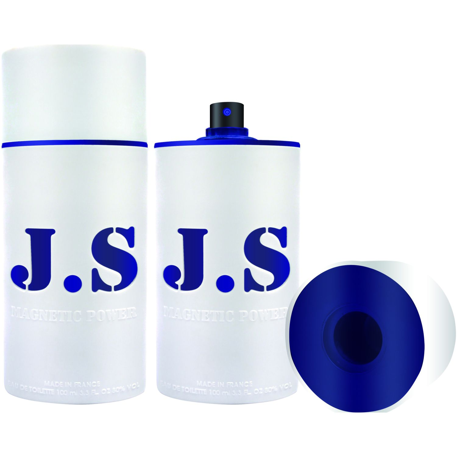 JEANNE ARTHES Joe Sorrento Magnetic Pow Navy 100ml Blanco / azul Perfume