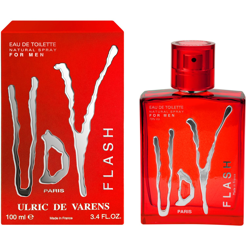 Ulric de Varens Ulric De Varens Flash Edt 100 Ml Rojo Perfume