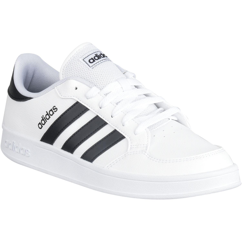 Adidas Breaknet Blanco / negro Para caminar