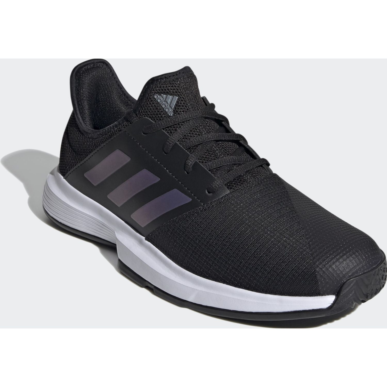 Adidas Gamecourt M Negro / blanco Para caminar