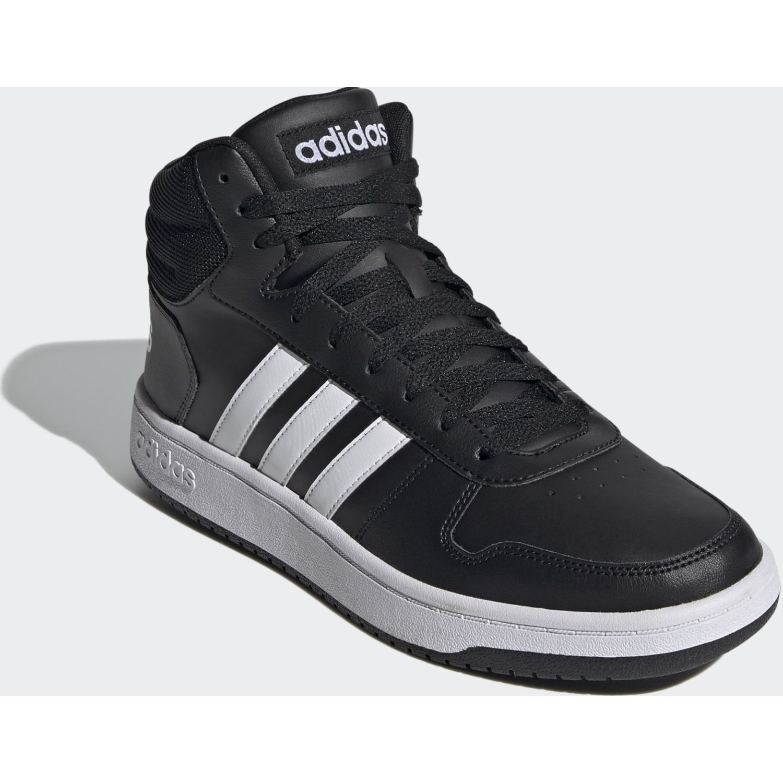 Adidas Hoops 2.0 Mid Negro / blanco Hombres