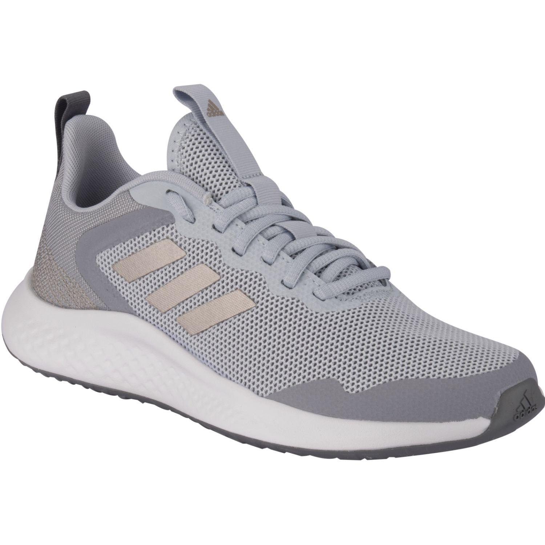 Adidas Fluidstreet Gris / celeste Correr por carretera