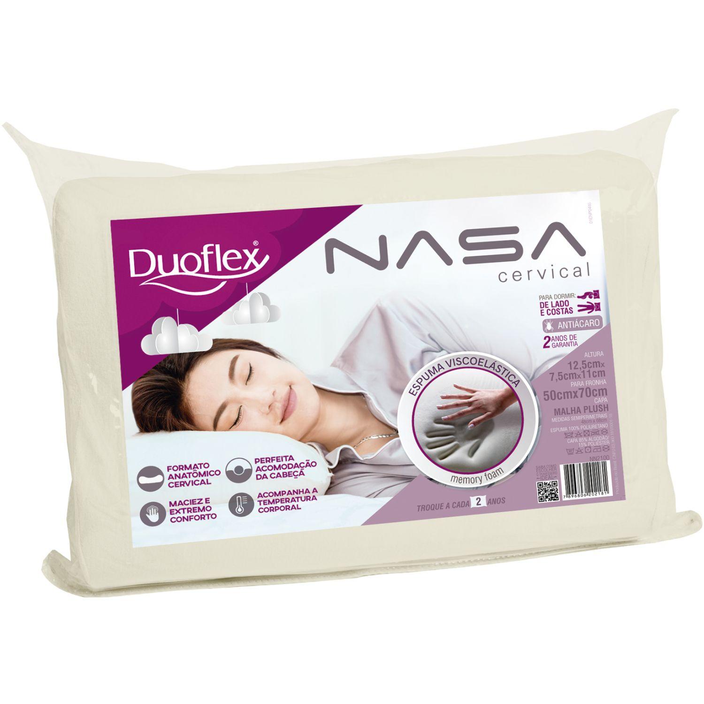 Duoflex Nasa Cervival Blanco Almohadas