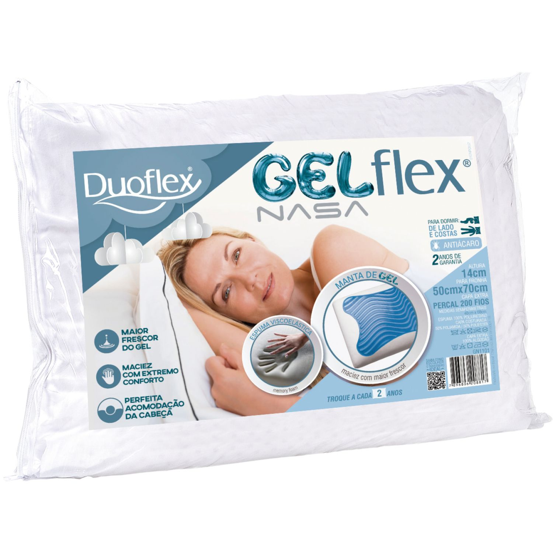 Duoflex Gelflex Blanco Almohadas