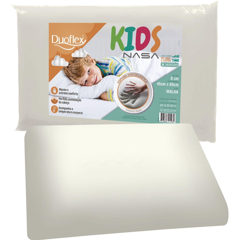 Duoflex Kids Nasa Blanco Almohadas