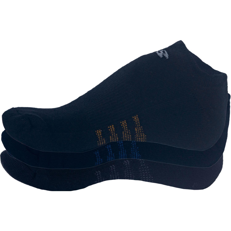 New Balance Socks 3 Pack No Show Negro Negro Medias deportivas