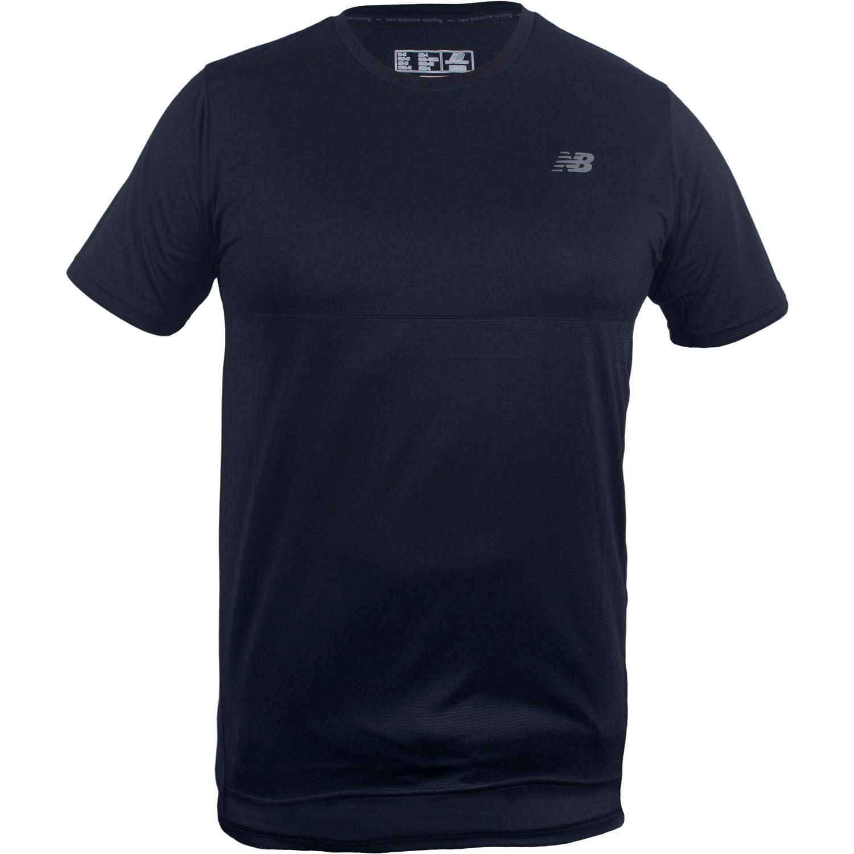 New Balance N.Balance Polera Accelerate Ss Negro Negro Camisetas y polos deportivos