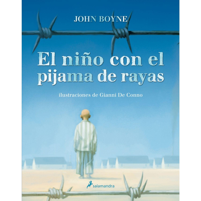 SALAMANDRA BOLSILLO El Niño Con El Pijama De Rayas Sin color Literario