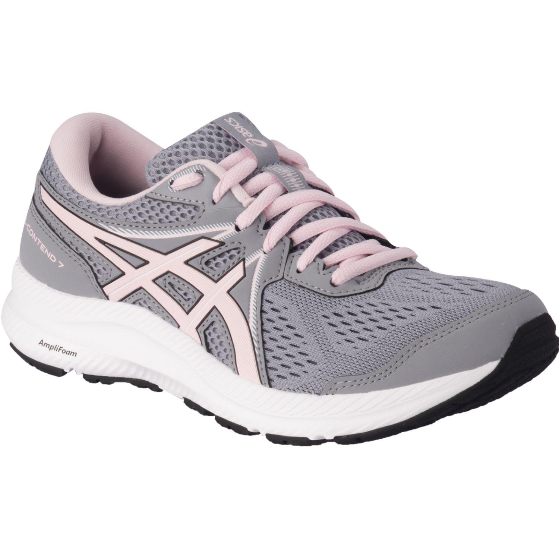 Asics Gel-Contend 7 Gris / rosado Correr por carretera