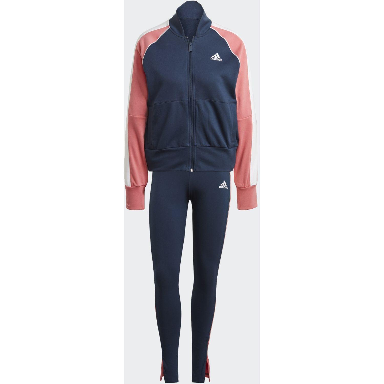 Adidas W Ts Bomb&tght Azul / rosado Conjuntos deportivos