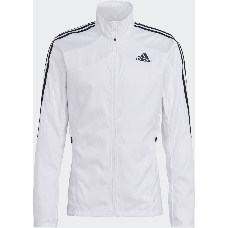 Adidas Marathon Jkt Blanco Casacas deportivas