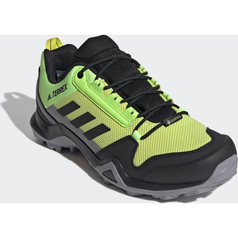 Adidas Terrex Ax3 Gtx AMARILLO / NEGRO Zapatos de senderismo