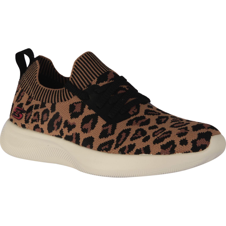 Skechers Bobs Squad 2 Leopardo Para caminar