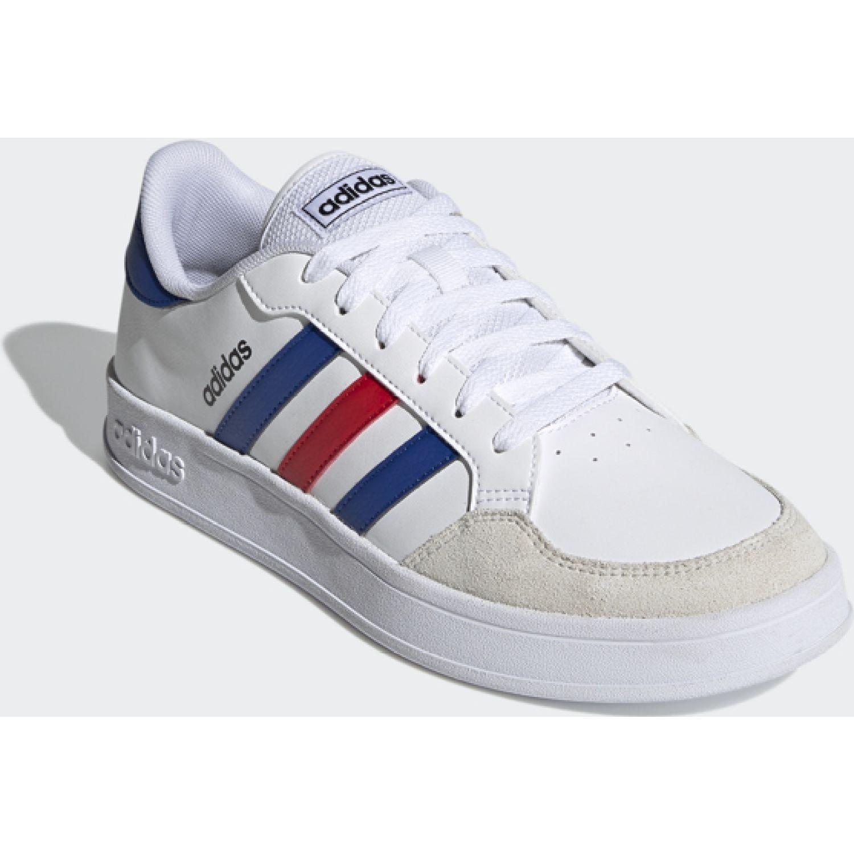 Adidas Breaknet Blanco / azul Para caminar