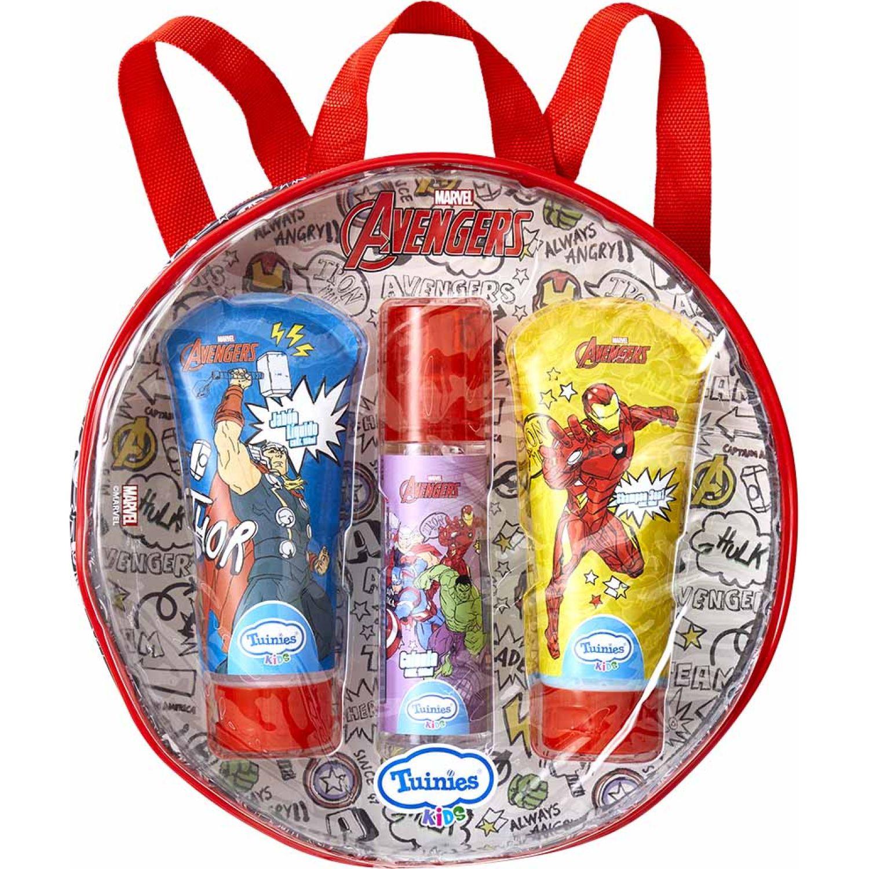 Avengers Set Mochila Avengers (Shampoo 2en1 150 Ml + Jabónlíquido 150ml + Colonia 100ml) Varios Shampoo