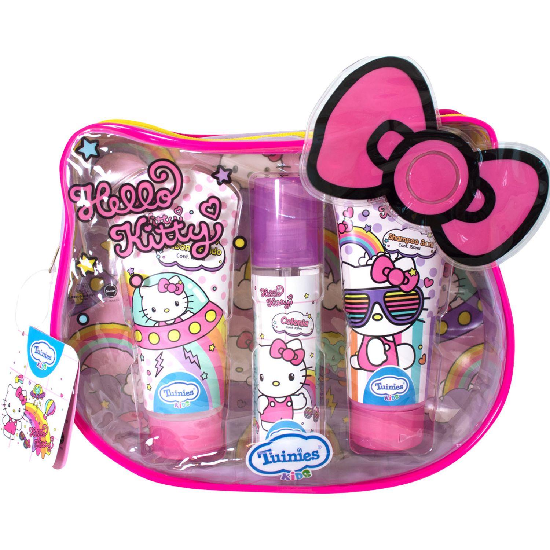Hello Kitty Set Mochila Hello Kitty (Shampoo 3en1 150 Ml + Jabónlíquido 150ml + Colonia 100ml) Varios Shampoo