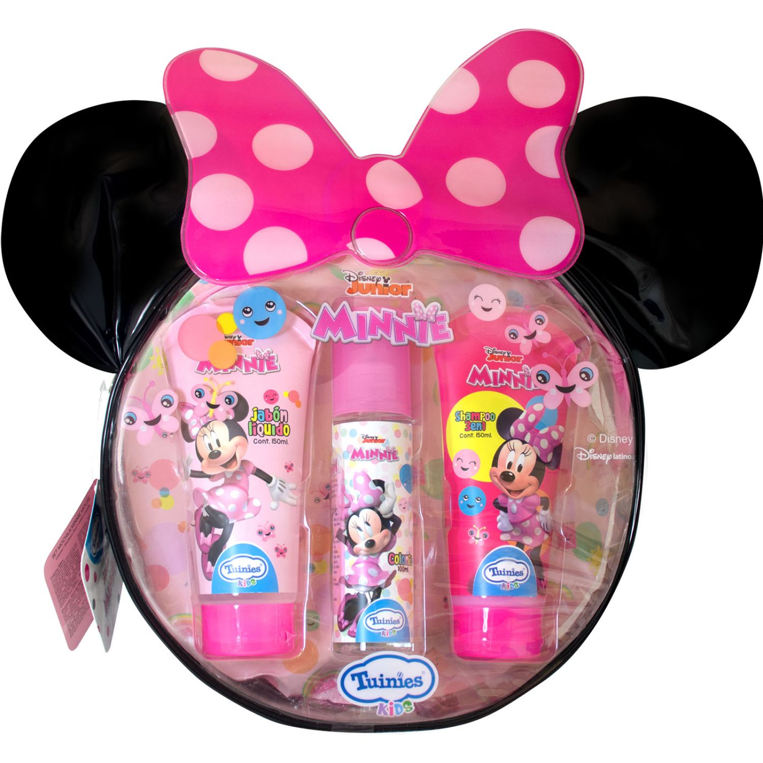 Minnie Set Mochila Minnie (Shampoo 3en1 150 Ml + Jabón líquido 150ml + Colonia 100ml) Varios Shampoo