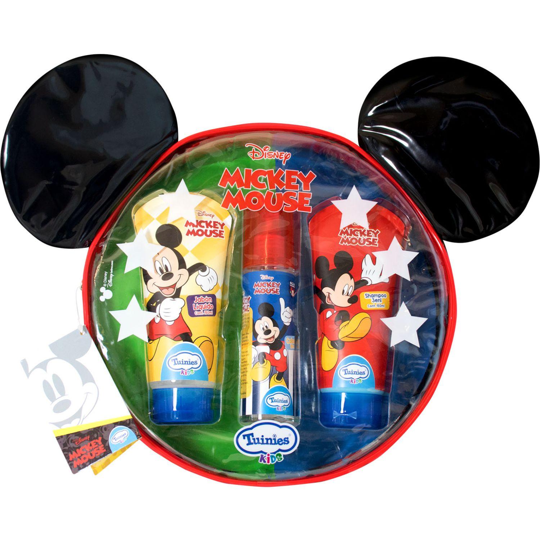 Mickey Set Mochila Mickey (Shampoo 3en1 150 Ml + Jabónlíquido 150ml + Colonia 100ml) Varios Shampoo