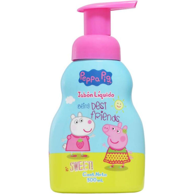 Peppa Pig Jabon Liquido 300ml Peppa Pig Varios Limpiadores corporales