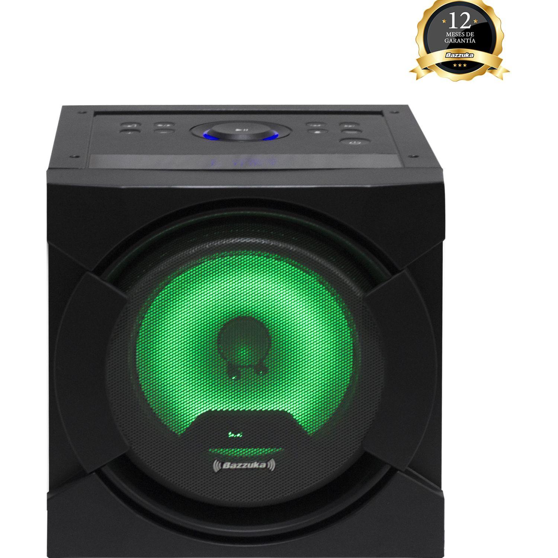 BAZZUKA Parlante Bzk H107 Bluetooth Home Negro Altavoces bluetooth portátiles