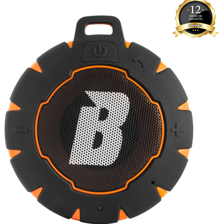 BAZZUKA Parlante Bzk H201b Orange Aqua Negro / naranja Altavoces bluetooth portátiles