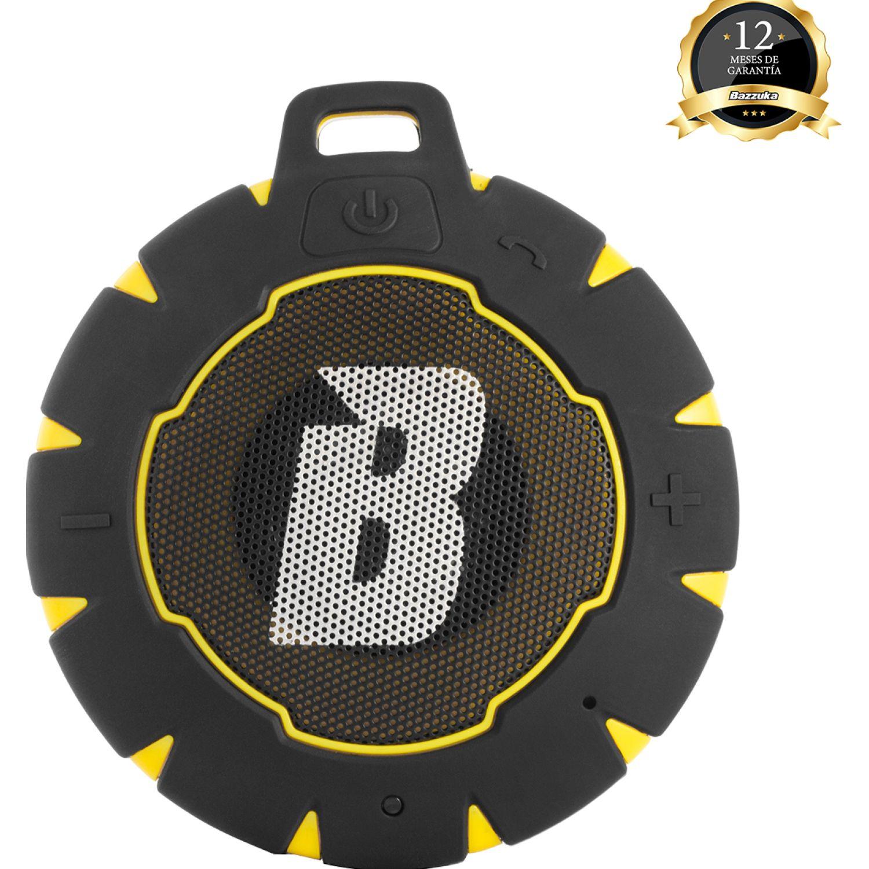 BAZZUKA Parlante Bzk H201b Yellow Aqua Negro / amarillo Altavoces bluetooth portátiles