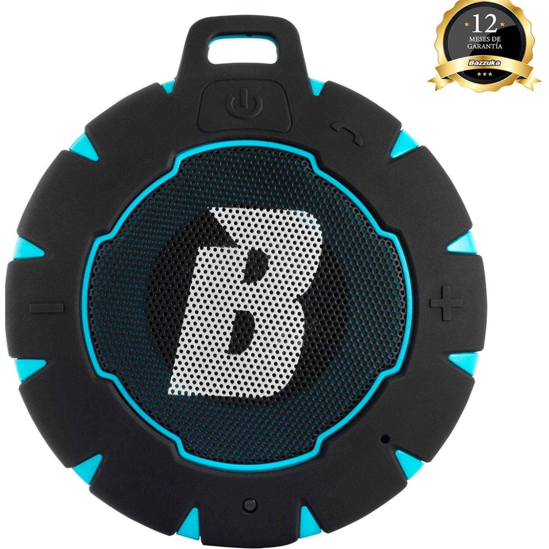 BAZZUKA Parlante Bzk H201b Blue Aqua Negro / azul Altavoces bluetooth portátiles