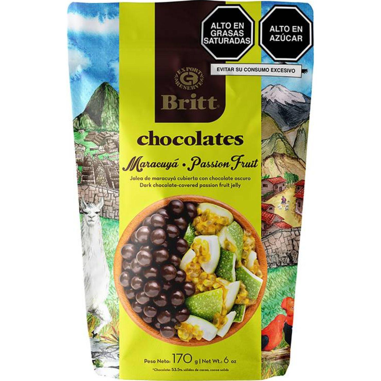 BRITT Chocolate Britt Peru Maracuya 170 G Sin color Surtidos de dulces y chocolate