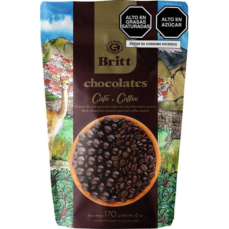 BRITT Chocolate Chocobritt Oscuro Peru 170 G Sin color Surtidos de dulces y chocolate