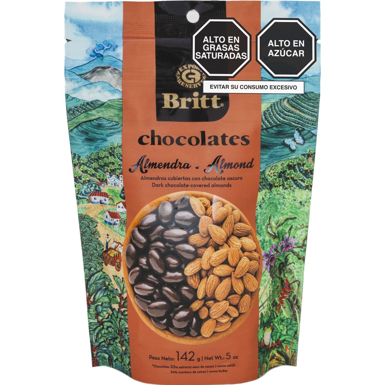 BRITT Almendra Britt Cubierta Chocolate Peru 142 G Sin color Surtidos de dulces y chocolate