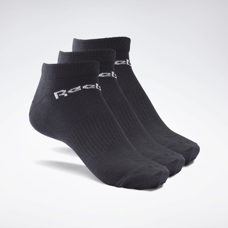 Reebok Act Core Low Cut Sock 3p Negro Calcetines