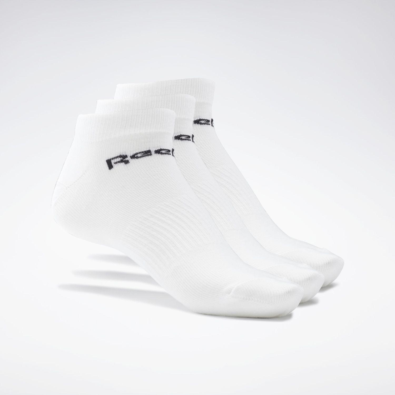 Reebok Act Core Low Cut Sock 3p Blanco Calcetines