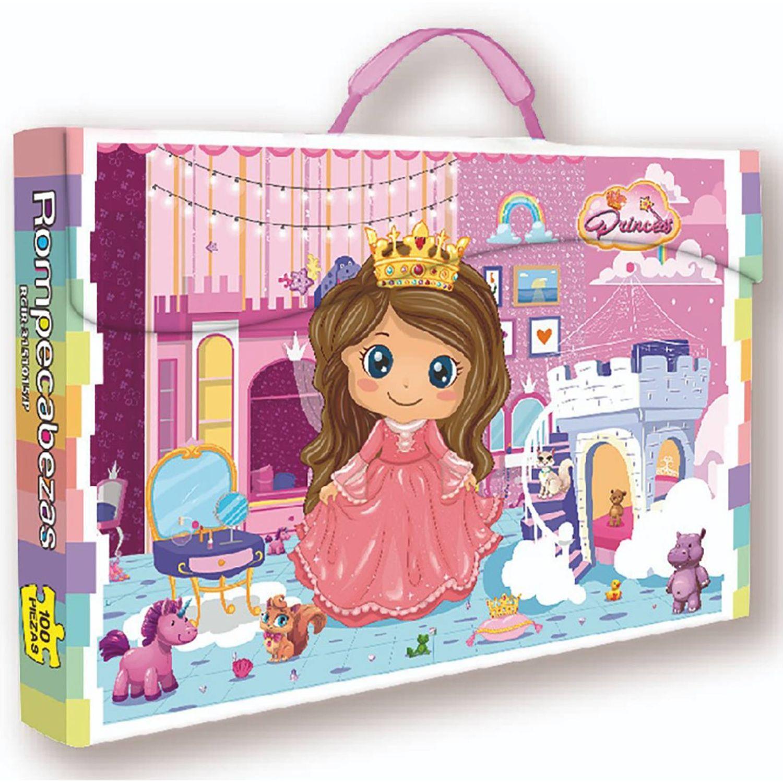 ONLINE Rompecabezas X 100 Pzas Princess Ii MULTICOLOR Rompecabezas 3-d