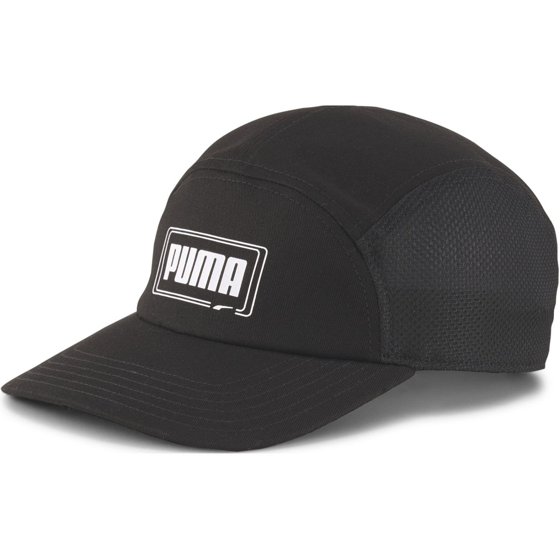 Puma Puma 5 Panel Cap Negro Gorras de béisbol