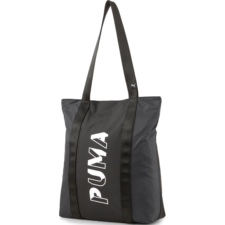 Puma Core Base Shopper Negro Bolsas con cordón para fans de deportes