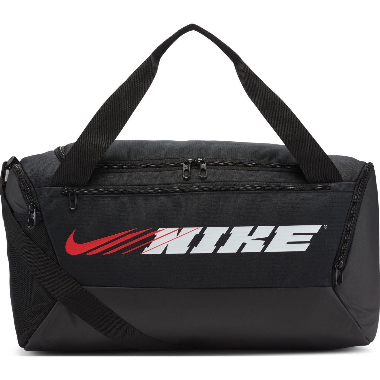 Nike Nk Brsla S Duff-9.0 Px Gfx Negro Bolsos de gimnasio