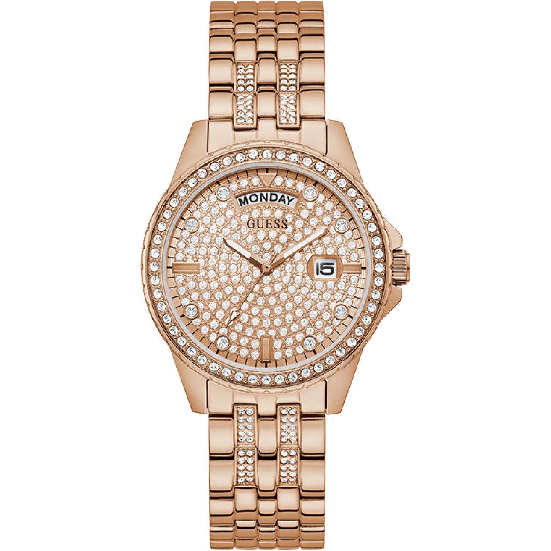 GUESS Reloj Guess Gw0254l3 DORADO / ROSADO Relojes de pulsera