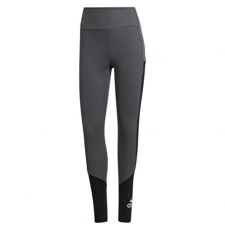 adidas W Bl Tig Gris / negro Leggings deportivos