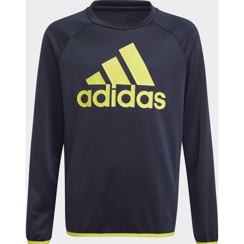 adidas B Bl Swt Azul / amarillo Hoodies deportivos