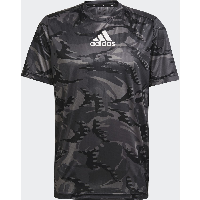 adidas M Camo Gt1 Plomo / negro Camisetas y polos deportivos