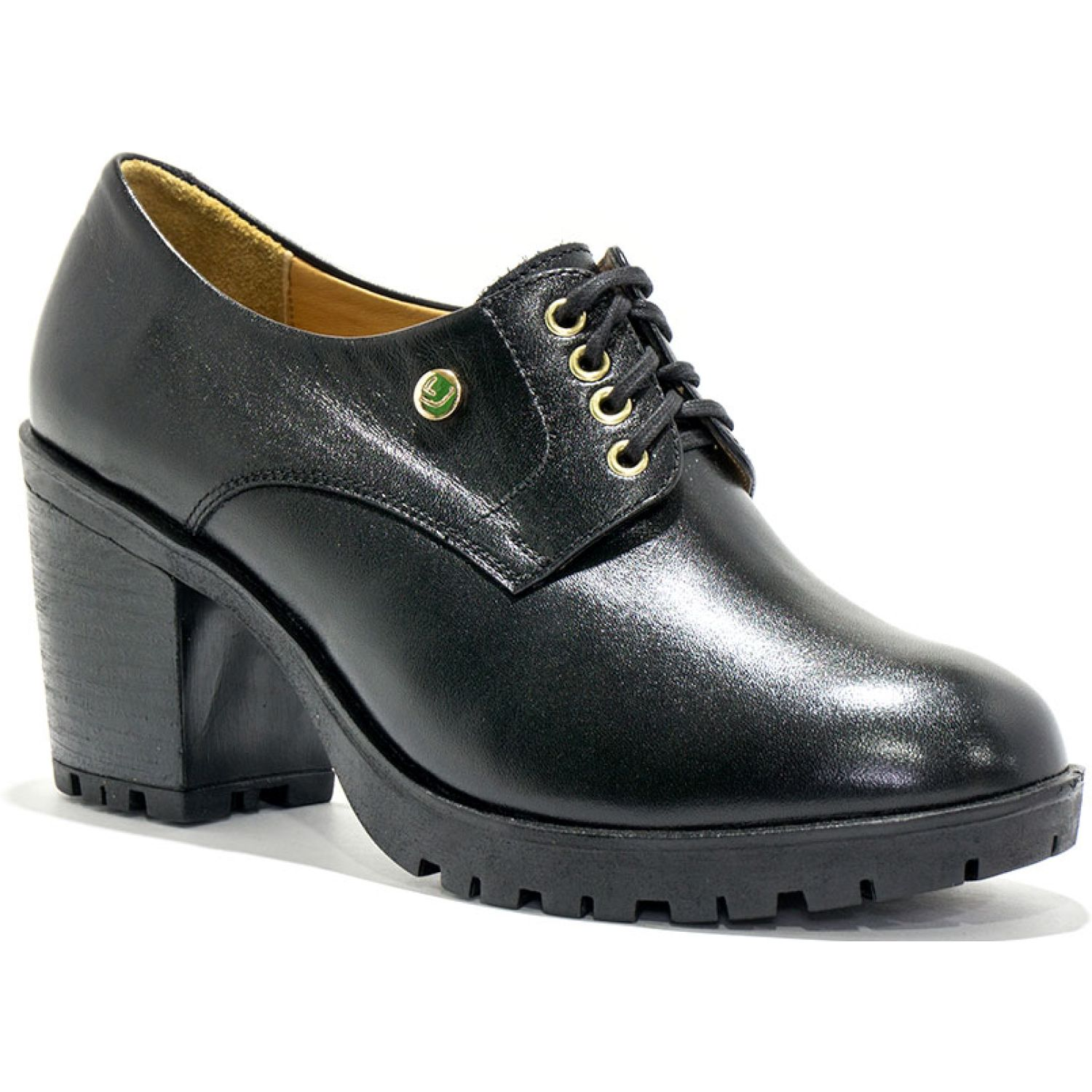 LumberJack 026545-man Negro Oxfords